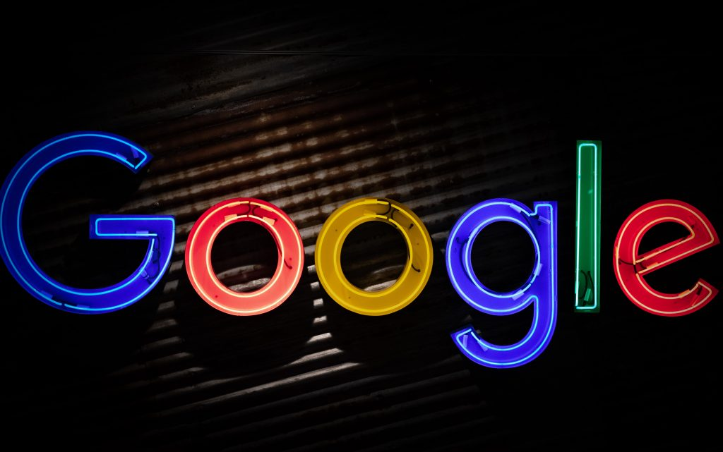 Home business networking hacks the Google logo neon sign